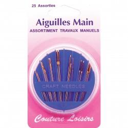 AIGUILLES TRAVAUX MANUELS X 25