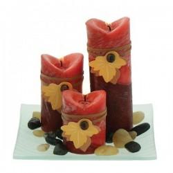 Set bougies Patchouli